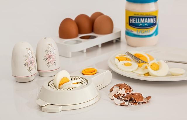 příprava vajec