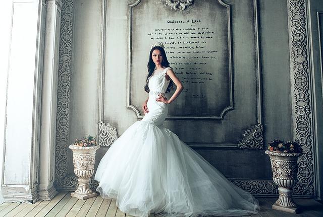 svatební šat