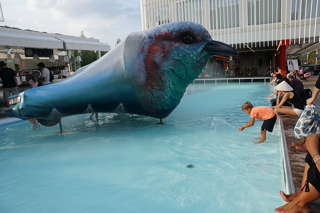 bazén na výstavišti Expo