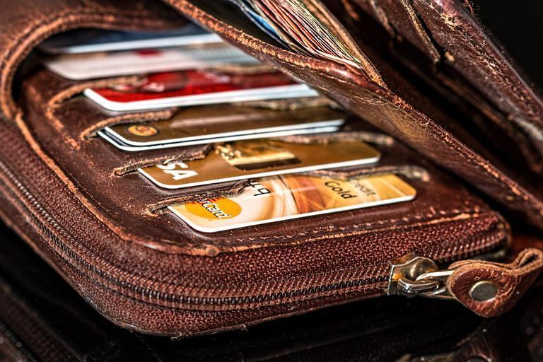 kreditky v peněžence