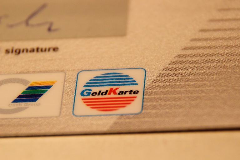 část platební karty