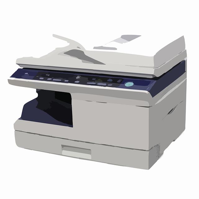 model multifunkční tiskárny